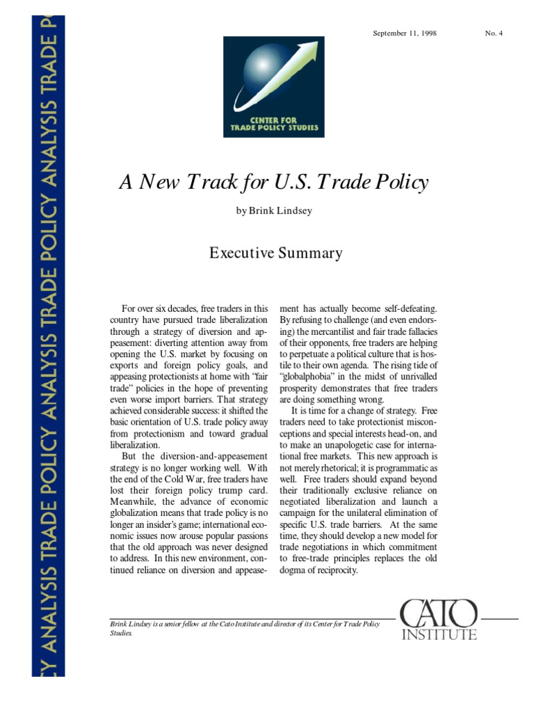 an analysis of the international trade policies of campaign 2000 By stephen simpson international trade is the exchange of goods, services and capital across national borders it is a multi-trillion dollar activity, central to the gdp of many countries, and it is the only way for people in many countries to acquire resources they require.