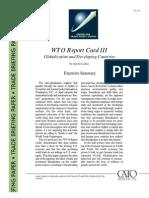 WTO Report Card III