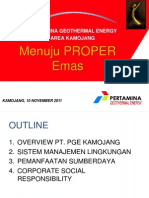 CSR Proper Emas