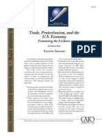 Trade, Protectionism, and the U.S. Economy