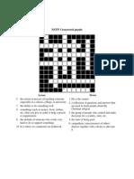 NSTP Crossword Puzzle