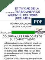 Competitividad Induarroz Congreso Ibague 2005