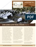 Friends of Lake James State Park Newsletter March-April 2014