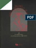 Teatro Mexicano Historia y Dramaturgia-Intro