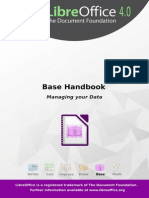 LibreOffice - Base handbook