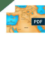 mapa ejipcio