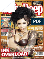 Skin Deep Tattoo Magazine - March 2014 UK