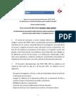 Documento Conceptual para la Reunión CECA 2014