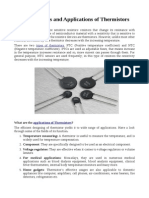 Top 5 Reasons and Applications of Thermistors