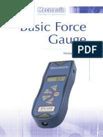 BFG Op Manual Spanish