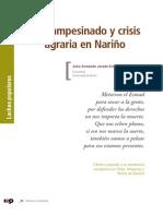 Campesinado y crisis agraria en Nariño