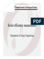 Boiler Efficiency Measurement