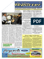 The Village Reporter - March 5th, 2014