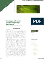 Hubungan Intensitas Cahaya Dengan Laju Fotosintesi