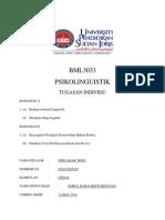 BML3033 PSIKOLINGUISTIK