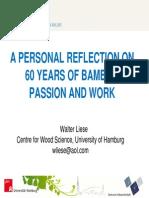 60 años del estudio bambu