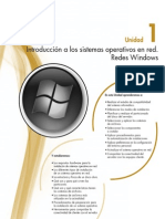 introduccion a los sistemas operativos de la red