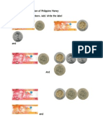 Addition and Subtraction of Philippine Money (Coins and Pesos)
