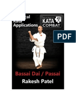 Practical Applications for the Kata Bassai Dai & Passai