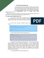 Function Dalam Matlab