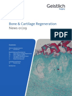 Bone & Cartilage Regeneration
