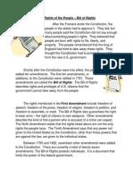 bill of rights reading activity