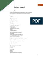 Tres Poemas