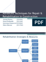 Advanced Techniques for Repair and Rehabilitation in Construction