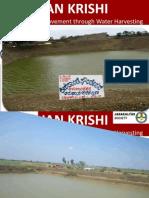 Livelihood Improvement of Tail end farmers through water harvesting - a presentation on janakalyan achievement in sandbox with Deshpande Foundation support