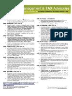 JUNE 2013 Tax Reminder