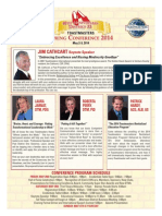 Toastmasters Spring Conf 2014 Flyer Final