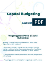Kuliah 7 Capital Budgeting