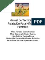 Manual de Técnicas de Relajación Para Niños con Hemofilia