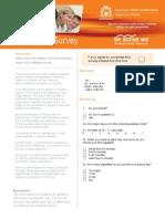 Employee Survey