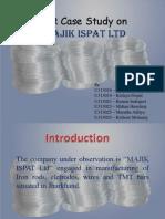 HR Case Study on MAJIK ISPAT Ltd