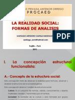 3. Teorias de La Realidad Social