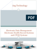 Electronic Data Management