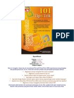 101 Tip & Trik MS PowerPoint 2003