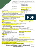 Chuyên đề 1 - Cấu tạo nguyên tử - bảng tuần hoàn các nguyên tố hóa học