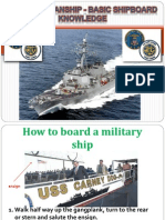 Basic Seamanship - Basic Shipboard Knowledge