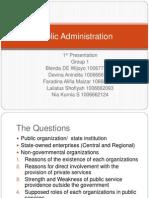PPT Administrasi Pembangunan First Presentation