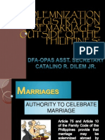 8_dfa Dilem_solemnization and Registration of Marriages Outside Revised