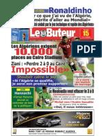 LE BUTEUR PDF du 15/10/2009