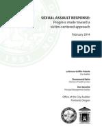 Portland Sexual Assault response 2014