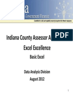 120821 - Bussis Presentation - Excel Excellence - Beginner