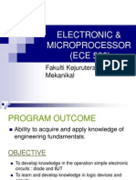 Chapter 1 Electronic & Microprocessor