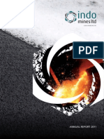 2011 Indo Mines Annual Report