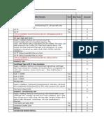 BOQ Formate for CA