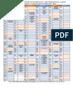 Calendar Even 2014 nitt