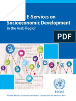 IMPACT OF SELECTED E-SERVICES ON SOCIOECONOMIC DEVELOPMENT IN THE ARAB REGION